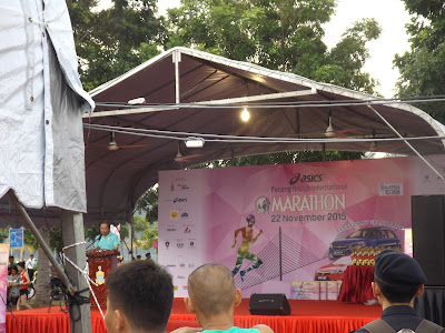 Closing ceremony for Penang Bridge International Marathon 2015