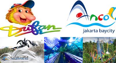 Harga Tiket Dufan, Ancol, Seaworld terbaru