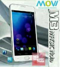 harga Movi M3 Magic Note, spesifikasi lengkap phablet Movi M3 Magic Note, hp selain galaxy note yang harganya murah 1 jutaan