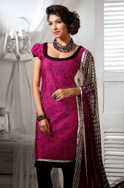 Salwar Kameez Dresses Collection 2013-14 For Women & Girl