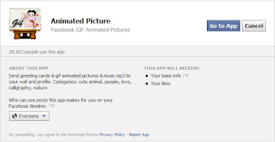 Add GIF Animated Image And Photo In Facebook Status