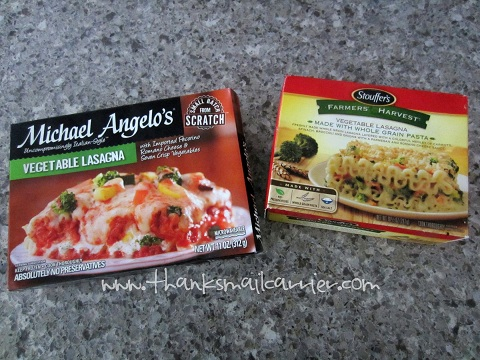 Michael Angelo's vs Stouffer's