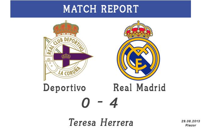Deportivo La Coruna - Real Madrid Terese Herrera trophy 2013