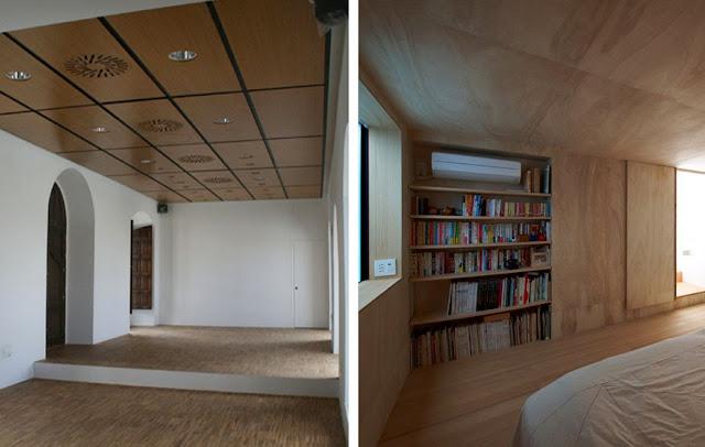 Techos de madera inspiraci n espacios en madera - Madera para techos interiores ...
