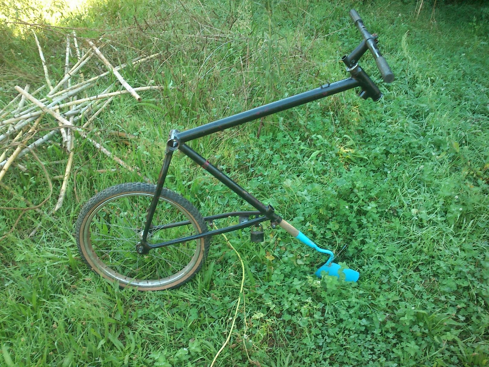 Mountain bike aixada (fabricació pròpia)