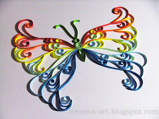 new Quilling Butterfly 01    wesens-art.blogspot.com