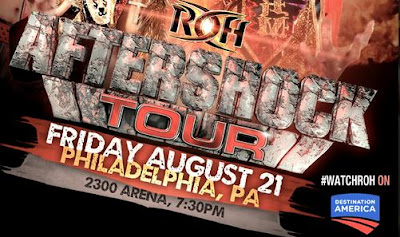 ROH Aftershock Tour 2015 - Philadelphia, PA