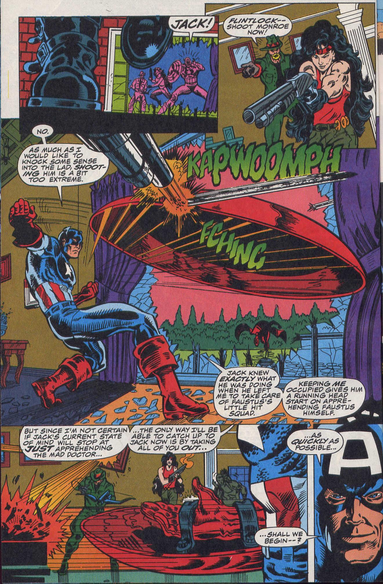 Captain America (1968) Issue #420b #370 - English 5