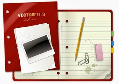 Craft a Vector Collegiate Notebook Design