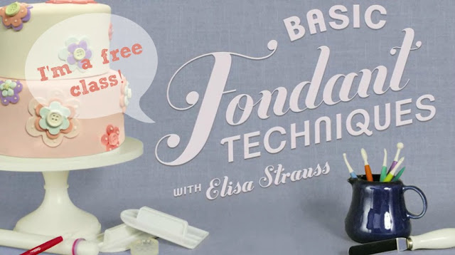 Tuesday Tip Basic Fondant Techniques with Elisa Strauss