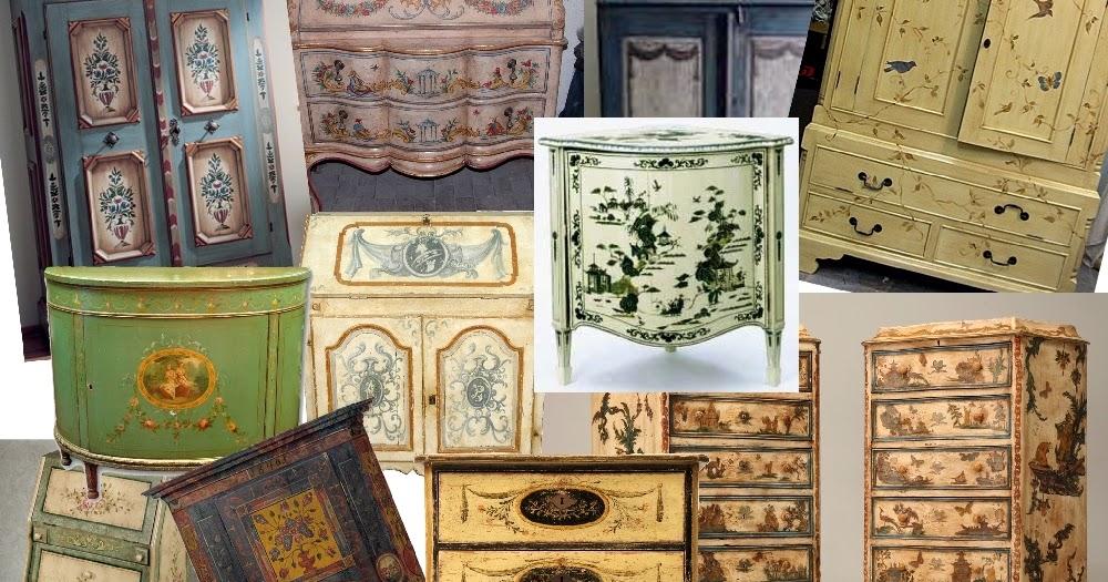 Peque eces muebles pintados a mano for Muebles pintados a mano