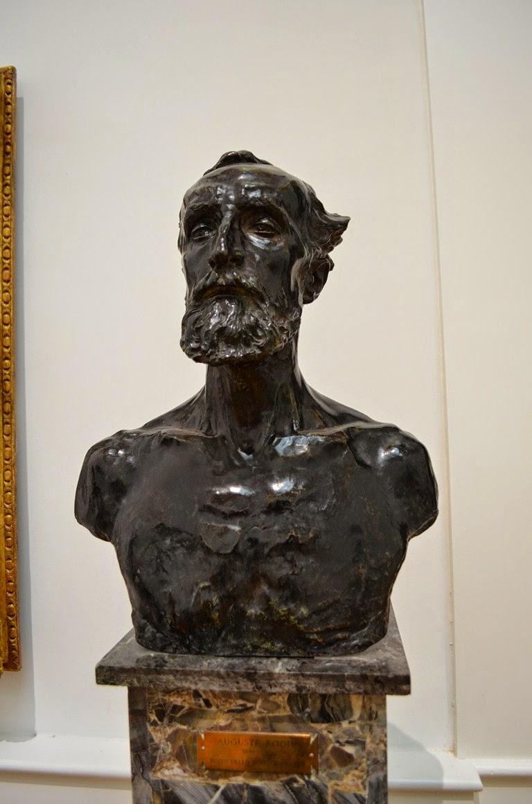 I viaggi di raffaella roma gnam la galleria nazionale d for Rodin scultore