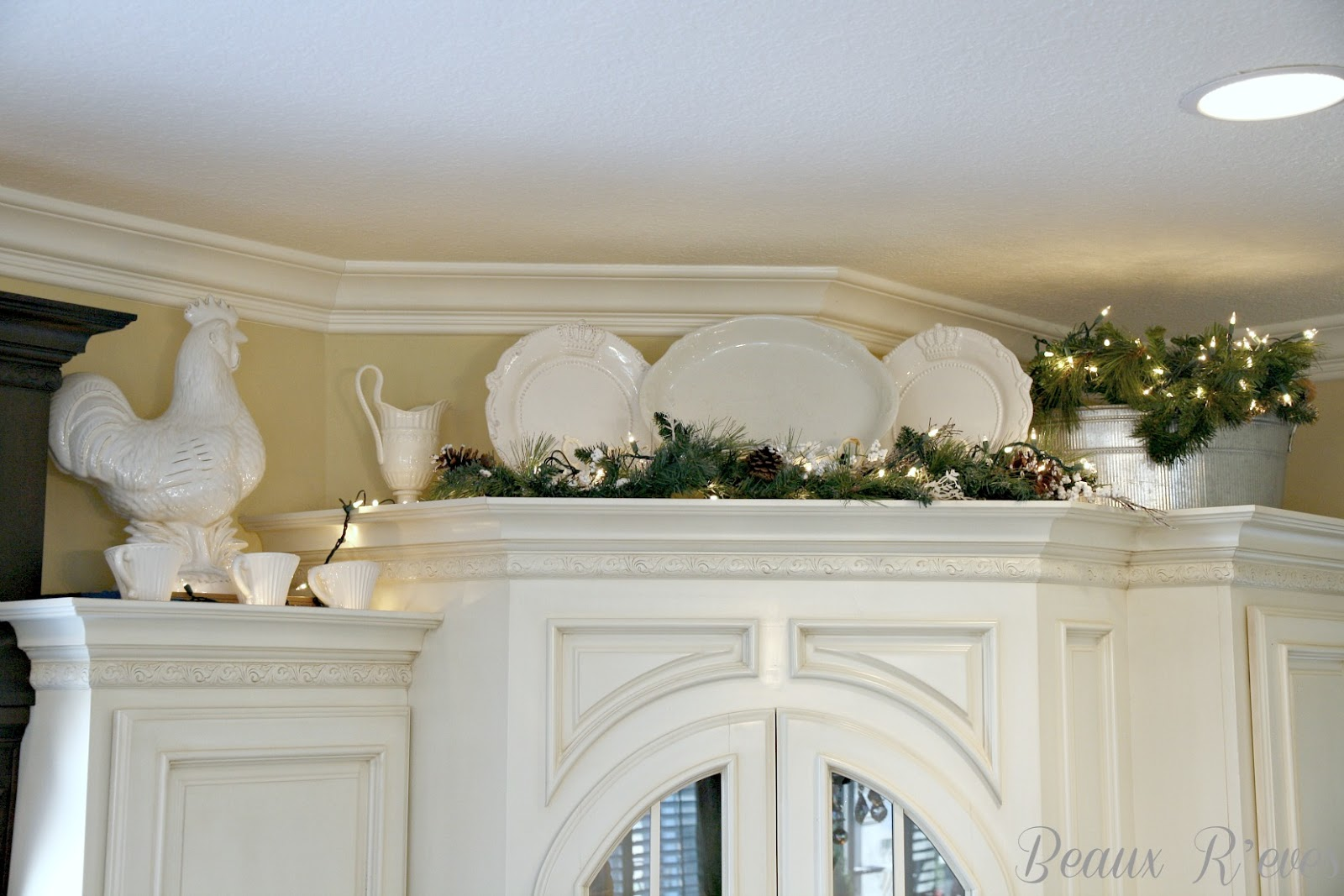 Beaux R'eves: It Feels Like Winter~Decorating After the Holidays