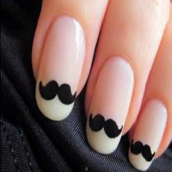 vestir las uñas también!...
