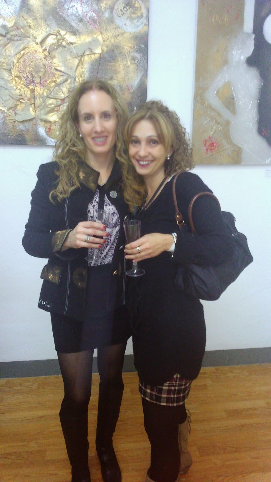 Laura Neira y su prima Julia