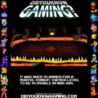 nba jam mk fact Random Game Facts   NBA Jam Mortal Kombat Edition?