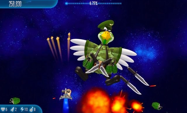 Chicken Invaders 5 PC Games Gameplay