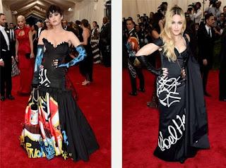 Katy Perry y Madonna MET 2015