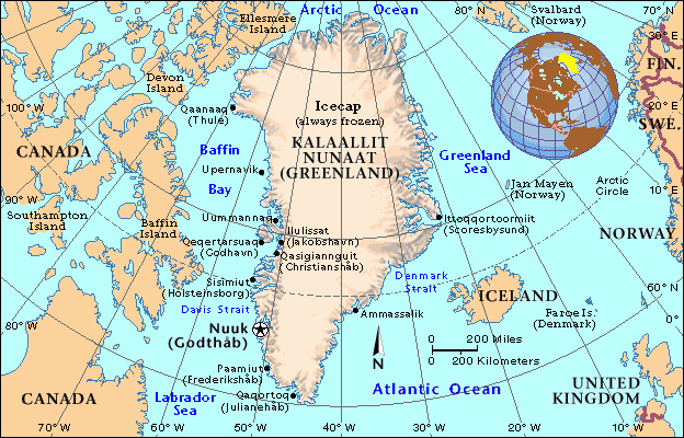 International Travel Lessons Are Not Learned At Home A BIRTHDAY - Greenland latitude