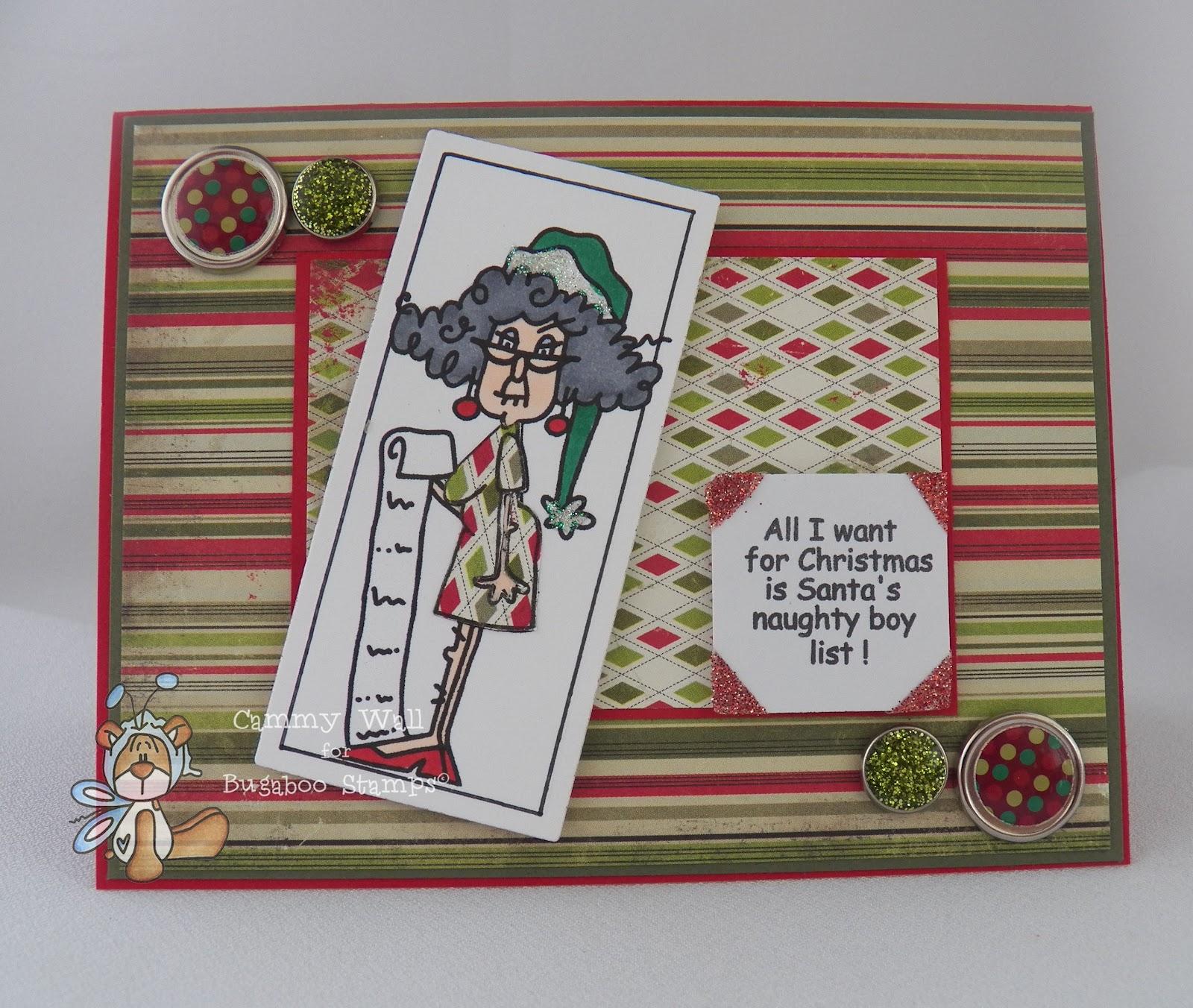 Today's Theme: Humor Me -- Make a funny Christmas card.
