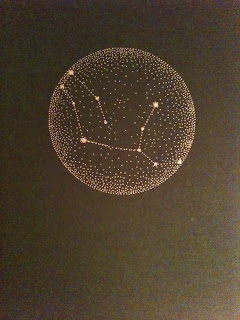 Virgo Constellation Card by Sabrina Kaicia