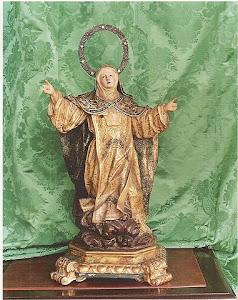 Talla de Santa Catalina de Siena