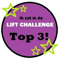 Jippie,in de top 3 bij de Liftchallenge!