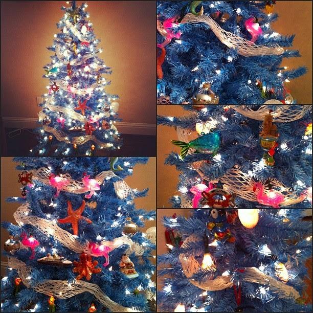 Apple Ornaments Christmas Tree