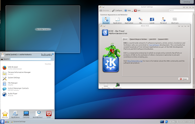 Kubuntu 14.10 Utopic Unicorn Beta 1 Plasma 4