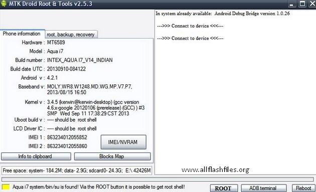 MTK Droid Flashing Tool v2.5.3: