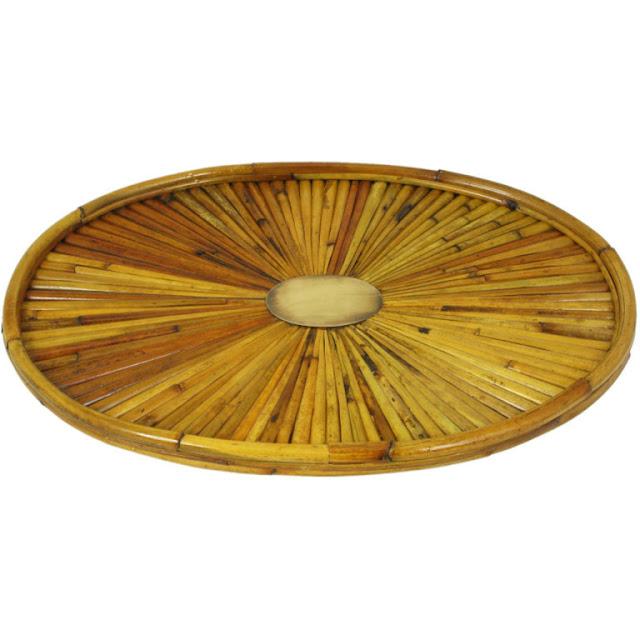 Bamboo Oval Tray2