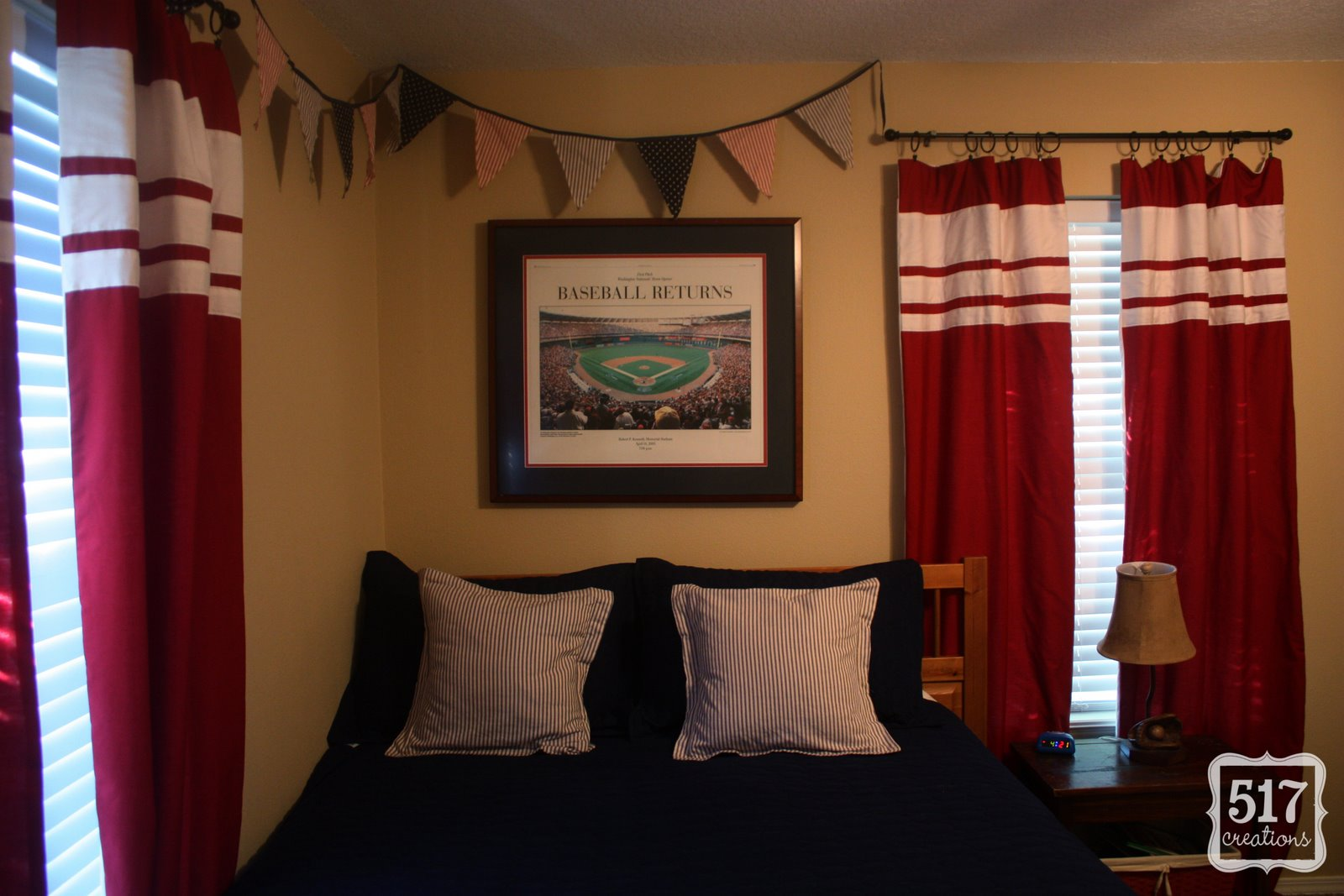 Red curtains walmart - I Came Across Some Twin Sized Red Flat Sheets At Wal Mart For 5 And Thought They Would Be Perfect I Bought 2 Red Flat Sheets I Cut One Sheet In Half To