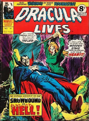Marvel UK, Dracula Lives #41