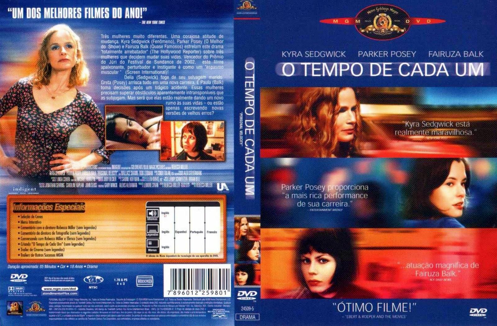 Capa DVD O Tempo De Cada Um
