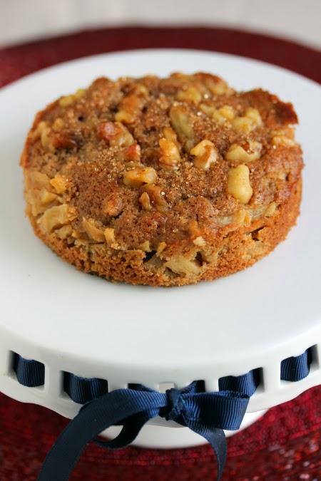 gingerbread apple torte