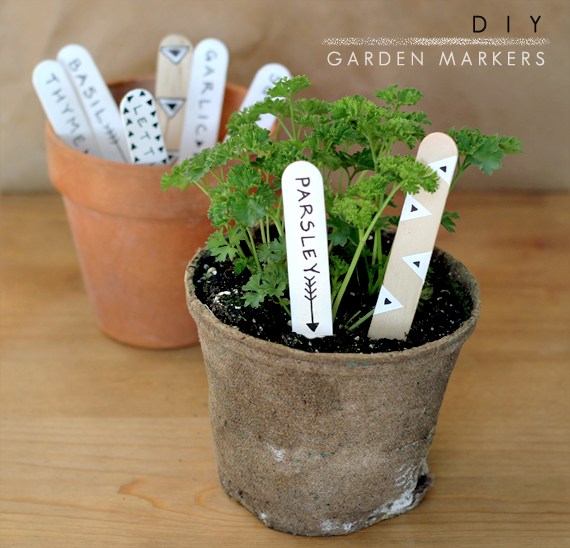 Bubby and Bean Living Creatively DIY Tutorial Garden and