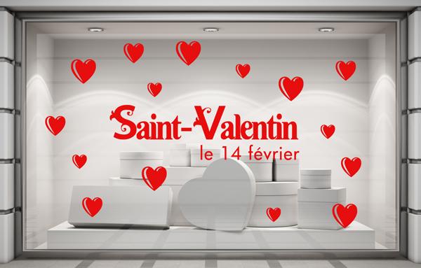 Le blog de graphic 39 arts janvier 2016 - Deco st valentin vitrine ...