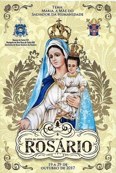 FESTA DO ROSÁRIO 2017 CAICÓ: 19 A 29 DE OUTUBRO