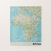 African Geography Map