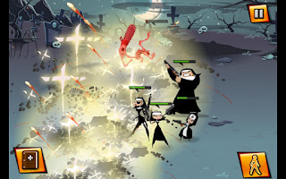 Nun Attack v1.0.4 APK: game nữ tu sĩ bắn súng tiêu diệt zombies (mod)