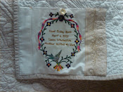 Embroidered Quilt Label