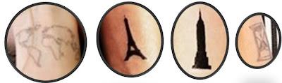 reloj de arena tatuaje