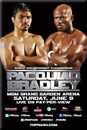 Manny Pacquiao vs  Timothy Bradley on June 9  2012Manny Pacquiao Vs Timothy Bradley April 12