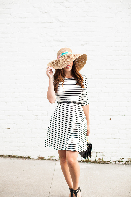 Here&Now: how to wear a scarf on your sunhat