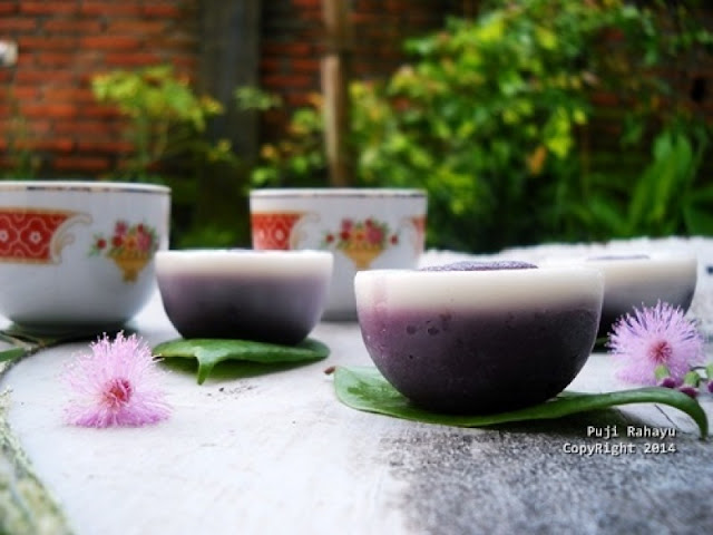 Resep Kue Talam Dan Cara Membuat Kue Talam Ubi Ungu
