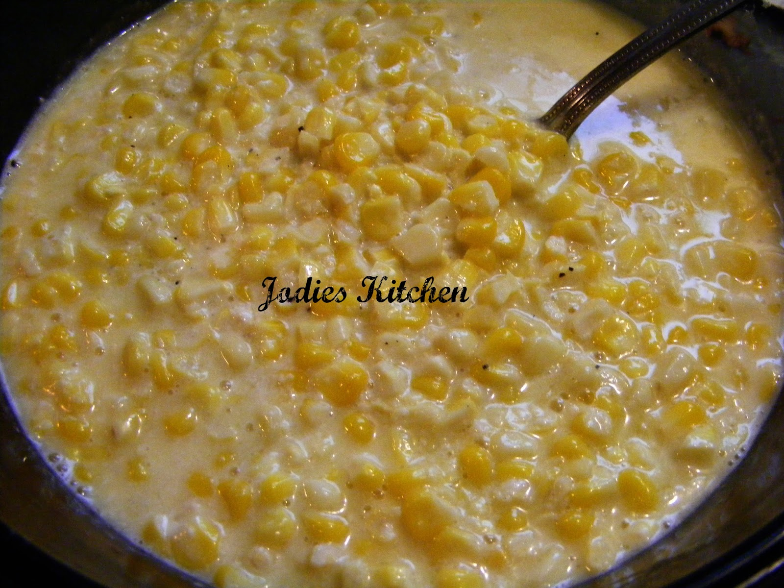 Jodies Kitchen: Cream Style Corn