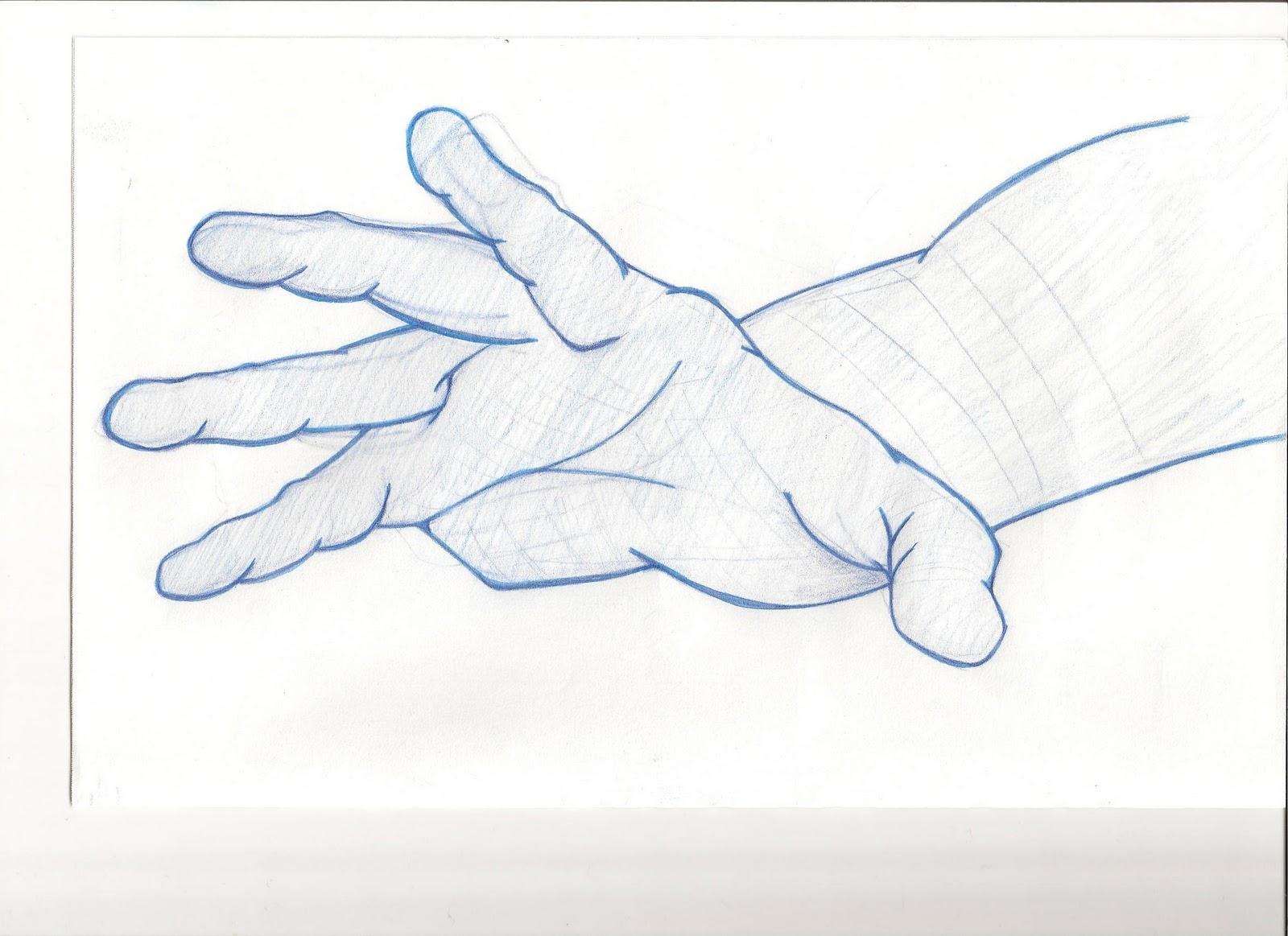 Raphael boucher dessins mains cartoon 3 et de 4 doigts ainsi que mains r aliste - Dessin de mains ...