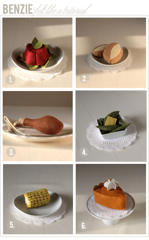 thanksgiving felt food diy