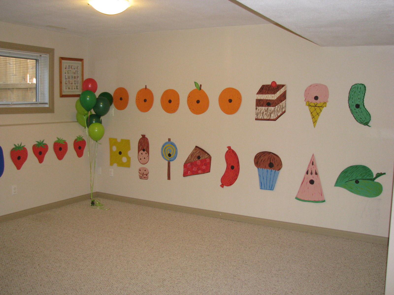 Making Merry Memories: The Very Hungry Caterpillar Party