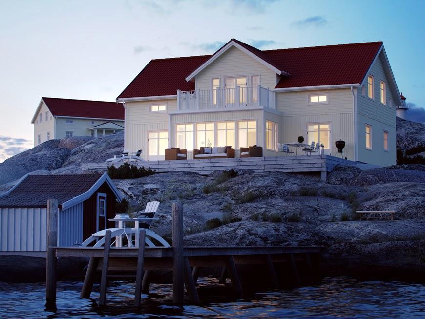 #skepparegården aka. #skånbeckvillan - Ett hus blir till